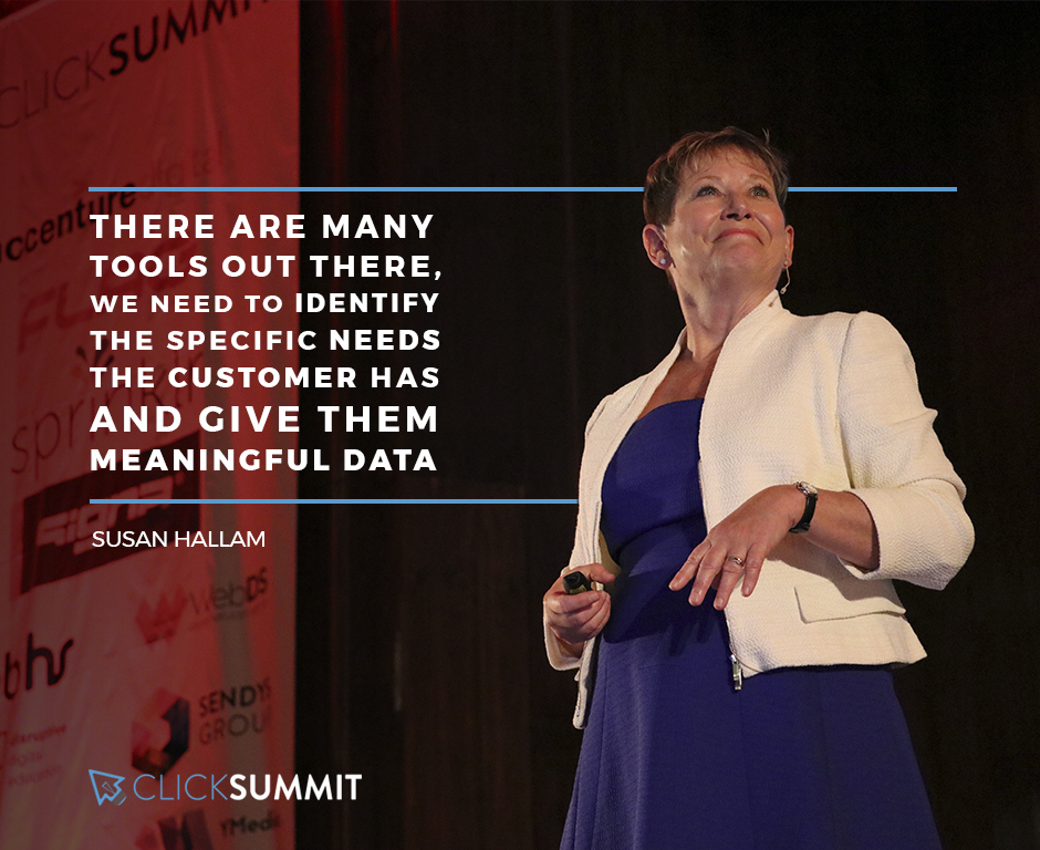 susan hallam - clicksummit2017 - marketing digital