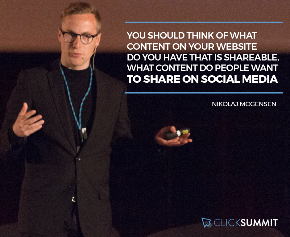 nikolaj mogensen - clicksummit 2017 - marketing digital