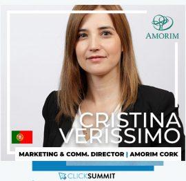 Cristina Veríssimo no ClickSummit 18