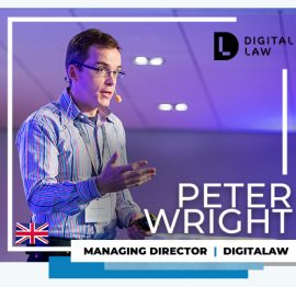 Peter Wright no ClickSummit 18